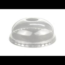 PLA Shaker Pohár Gömbtető Lyukkal 3-5 dl-es pohárra (komposztálható/lebomló) 100 db/csomag