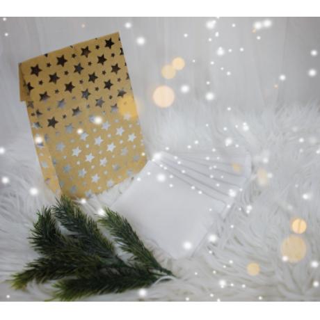 Karácsonyi Cukormentes Forrócsoki ajándékcsomag dísztasakban 10 adag