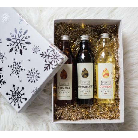 Karácsonyi Simply szirup ajándékcsomag