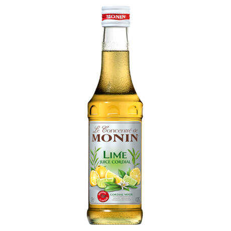 Monin Cordial Lime Juice