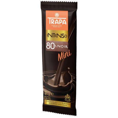 Trapa Intenso Mini 80%-os kakaótartalmú Étcsokoládé 24g