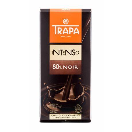 Trapa Intenso Étcsokoládé 80%-os kakaótartalommal 175g