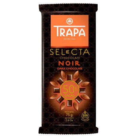 Trapa Étcsokoládé 50% kakaótartalommal 75 g