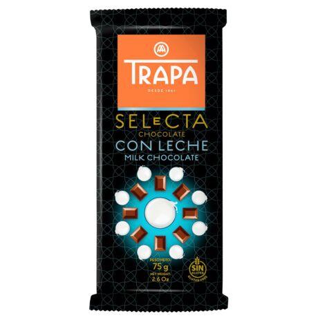 Trapa Selecta Tejcsokoládé 75g