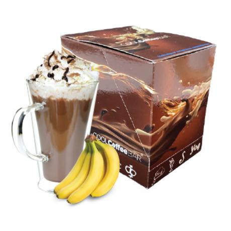 COOLCoffeeBAR - Banános forró csokoládé ízű italpor 10 adag