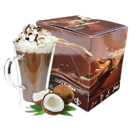 COOLCoffeeBAR - Kókuszos forró csokoládé ízű italpor 10 adag