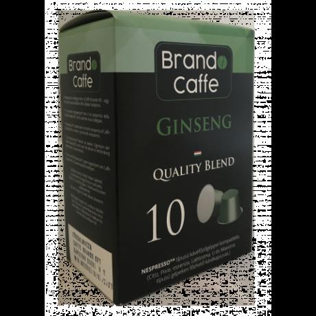 Nespresso kávéfőzőgéppel kompatibilis kávékapszula Ginseng 100% robusta
