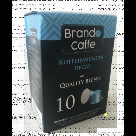 Nespresso kávéfőzőgéppel kompatibilis kávékapszula Koffeinmentes