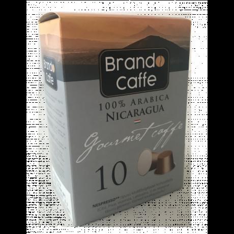 Nespresso kávéfőzőgéppel kompatibilis kávékapszula Nicaragua - 100% arabica