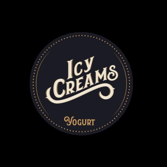 Icy Creams Joghurt tasakos shake Málna