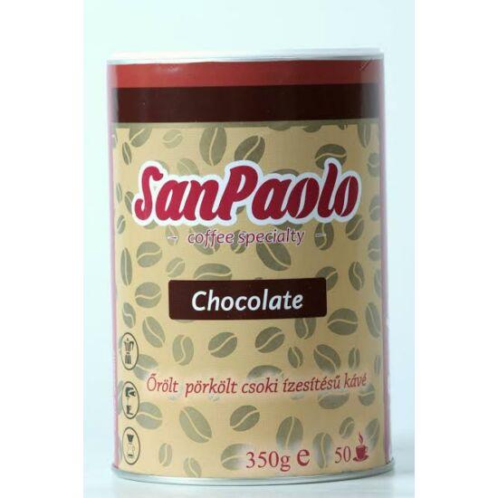 San Paolo őrölt kávé csokoládé