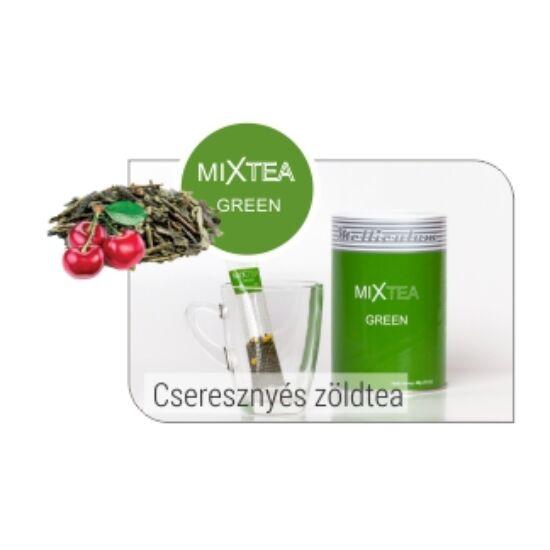 zöld szálas tea