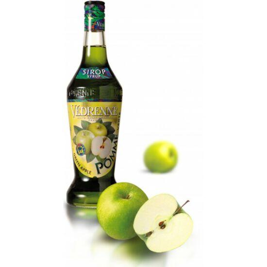 Zöld alma szirup